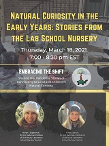 Natural Curiosity Webinar 2021 Series Embracing the Shift - Part 3: Natural Curiosity in the Early Years